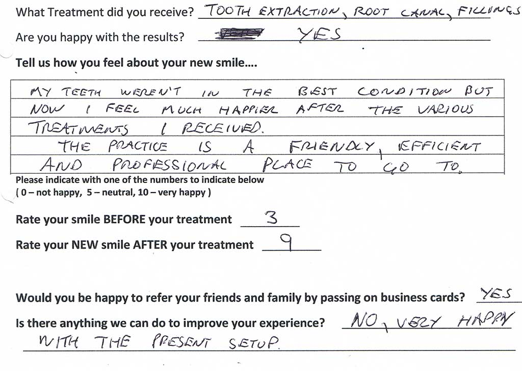 Success Stories Patient Testimonials