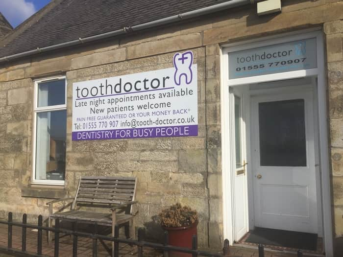 The Home Of *Pain Free Dentistry Welcome To Tooth Doctor, Carluke